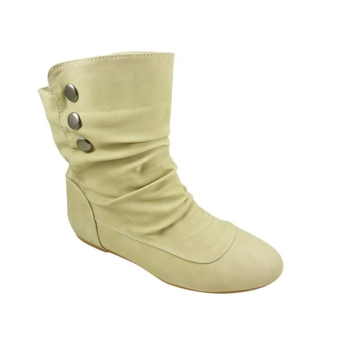 bottines plates femme la chaussure des filles de grande taille. Black Bedroom Furniture Sets. Home Design Ideas