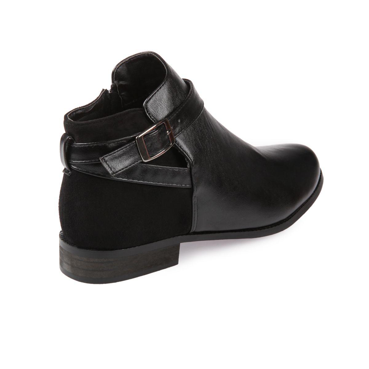 boots femme plates. Black Bedroom Furniture Sets. Home Design Ideas