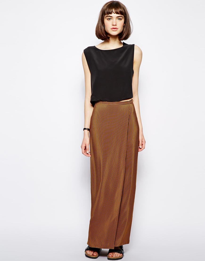 38d51a70337 Look jupe longue chic